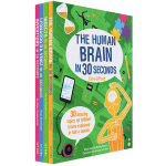 Science Ideas in 30 Seconds 英文原版 30秒读懂 英国科普百科 小学生微阅读 4册