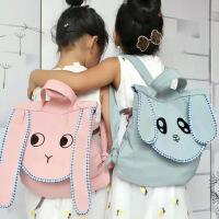 儿童书包幼儿园宝宝双肩包可爱卡通兔耳朵背包