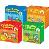 小读者系列 First Little Readers A B C D 4盒全套装  学乐阅读指导 英文原版