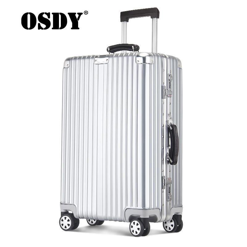 【支持礼品卡支付】OSDY品牌旅行箱托运箱29寸大容量箱子静音万向轮箱子8174升级单品更有终生质保!