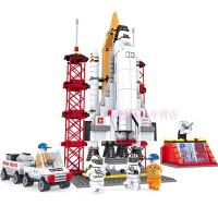 儿童兼容乐高积木拼装积木儿童航天飞机发射站火箭拼装组装模型6-10-12岁 航天飞机发射站拼装积木560颗