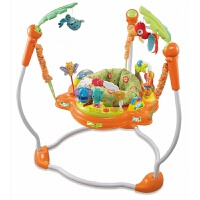 费雪哄娃神器 0-1岁益智玩具宝宝跳跳椅婴儿弹跳健身架