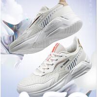 【券后预估价:112】361男鞋运动鞋2021春季新款361度软底舒适鞋子轻便透气潮流休闲鞋