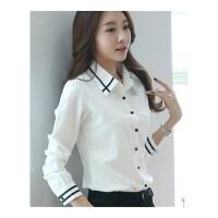 衬衫女士大码衬衫女长袖衬衫女学生韩版时尚女士衬衣