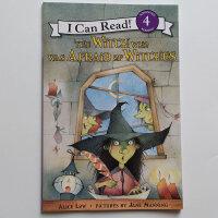 【全店300减100】I Can Read Level 4 The Witch Who Was Afraid of Wi