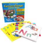 英文原版绘本Curious George Learning Library 好奇猴乔治 礼盒装5册26字母卡片 儿童启