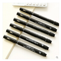 日本三菱UNI针管笔 水彩针管笔 漫画设计草图笔 描图笔 绘图笔