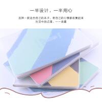 晨光A5时尚胶套本80页(恋上远方)APY4B847颜色随机当当自营