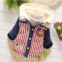男女童棉衣男宝宝棉外套加绒加厚冬季婴幼儿棉袄外出服1-5岁