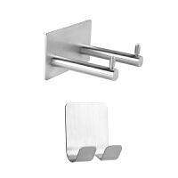 电吹风机的架子免打孔浴室卫生间壁挂式不锈钢家用挂放风筒置物架
