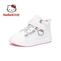 【4折价:111.6元】HELLO KITTY凯蒂猫童鞋女童棉鞋冬季新款儿童保暖户外鞋运动休闲鞋板鞋K8543821