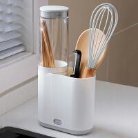 带盖防尘筷子篓厨房沥水筷子筒置物架家用筷子笼快子收纳盒