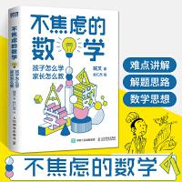 不焦虑的数学 孩子怎么学 家长怎么教 数学 写给中小学生家长的数学辅导书 小学初中阶段数学学习法 数学解题思路方法书籍