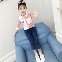 2019春装新款儿童装衬衣洋气韩版中大童长袖上衣潮娃娃衫女童衬衫