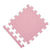 地板垫地毯婴儿泡沫小孩子铺在地上的坐垫宿舍拼接地垫客厅海绵垫 60X60X1cm/20片 送40边