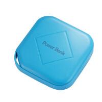 手机充电宝 充电宝8000M0PP0便携迷你苹果华为vivo手机通用大容量毫安小巧少女 蓝色