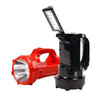 包邮久量LED770手电筒家用探照灯充电 强光远射地摊夜市灯应急灯手提