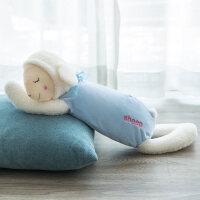 布娃娃可爱小羊绵羊公仔睡觉抱小女孩毛绒玩具女生儿童抱枕玩偶
