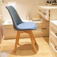 北欧家用椅学习椅写字椅书桌椅靠背简约椅子实木餐椅化妆椅电脑椅