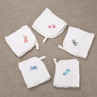儿童用品棉小方巾幼儿纱巾宝宝口水巾婴儿纱布洗脸毛巾