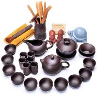 唐丰紫砂整套功夫茶具简约现代茶壶公道杯茶道六君子茶宠家用套装