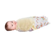 婴儿襁褓四季包巾宝宝睡袋防踢被薄款防惊跳吸汗春