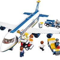 快乐小鲁班空中巴士积木 航空飞机立体组装拼装玩具6-14岁男孩玩具飞机模型兼容乐高积木