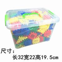 塑料拼插积木玩具3-6周岁1-2-4儿童男孩女孩宝宝拼的玩具组装房子