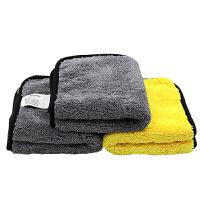 洗车毛巾吸水擦车巾汽车专用双面抹布车载清洗工具用品