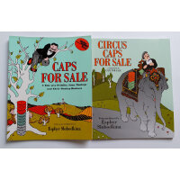 Caps for Sale 卖帽子 Circus Caps for Sale续集 2本套装 美国Top 100百本必读