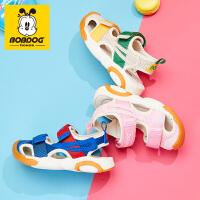 2019夏季新款儿童凉鞋男童女童包头童鞋宝宝沙滩鞋软底鞋