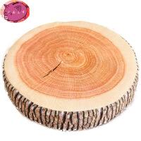 创意仿真树桩抱枕 砧板年轮靠垫家居搞怪大树可拆洗坐垫 毛绒玩具