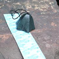 日式岩手南部铸铁风铃富士山复古铁器铃铛日式和风寺庙祈福挂饰