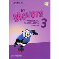 剑桥官方少儿英语YLE等级二级考试 A1 Movers Authentic Examination Papers 3 Student's Book from 2019 模拟考试真题集