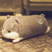 仓鼠毛绒玩具可爱萌布娃娃女生睡觉玩偶抱枕男生款生日礼物