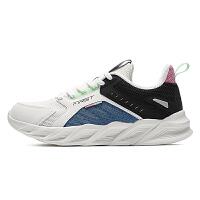 【券后预估价:74】361男鞋运动鞋2021春季新款软底跑鞋防滑减震轻便黑色跑步鞋子男