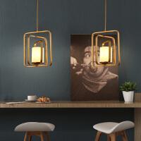 北欧后现代简约时尚设计师吊灯客厅餐厅卧室吧台茶楼金色玻璃吊灯 金色玻璃款