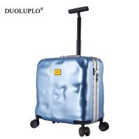 【年货节大促】多伦保罗韩版行李箱女破损箱20箱子拉杆箱18寸万向轮登机箱旅行箱