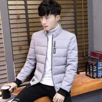 男士棉衣立领冬季新款外套韩版潮流短款加厚棉袄学生休闲夹克 5116灰色 165/M