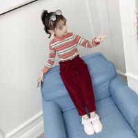 2019新款韩版童装儿童洋气两件套小女孩时髦针织衫女童秋装套装