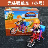 熊出没玩具车光头强嘟嘟电动三轮车熊大熊二骑自行车儿童玩具