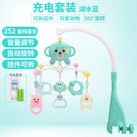 婴儿玩具0-3-6-12个月男女宝宝0-1岁新生儿手摇铃床铃带音乐