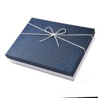 礼品盒大号空盒 礼盒精美盒子 长方形伴小号扁形生日包装礼物手
