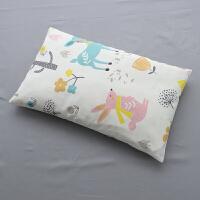 卡通婴儿枕头0-1岁新生儿宝宝全棉1-3-6岁儿童幼儿园荞麦壳定型枕