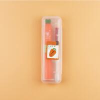 批发儿童电动牙刷迷你便携式声波干电池软毛防水旅行牙刷套装