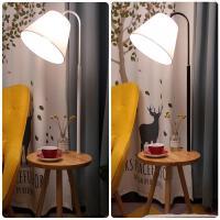落地灯实木客厅卧室床头灯创意北欧遥控欧式阅读豪华茶几落地台灯