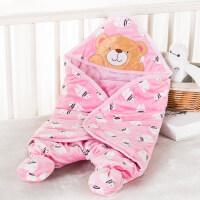 婴儿抱被秋冬新生儿两用抱被宝宝用品春秋睡袋冬季初生婴儿包被防惊跳襁褓包巾wk-50
