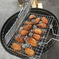 304不锈钢烤鱼网 烤肉烤鱼夹子网烧烤篦子夹板烧烤工具用品