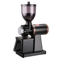 意式咖啡磨豆机 商用电动咖啡磨粉机单品家用研磨器 不锈钢磨盘 图片色