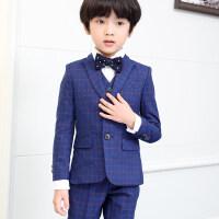 男童西装套装儿童西服男 小西装儿童礼服花童礼服男童2018新款儿童西装套装秋MYZQ60